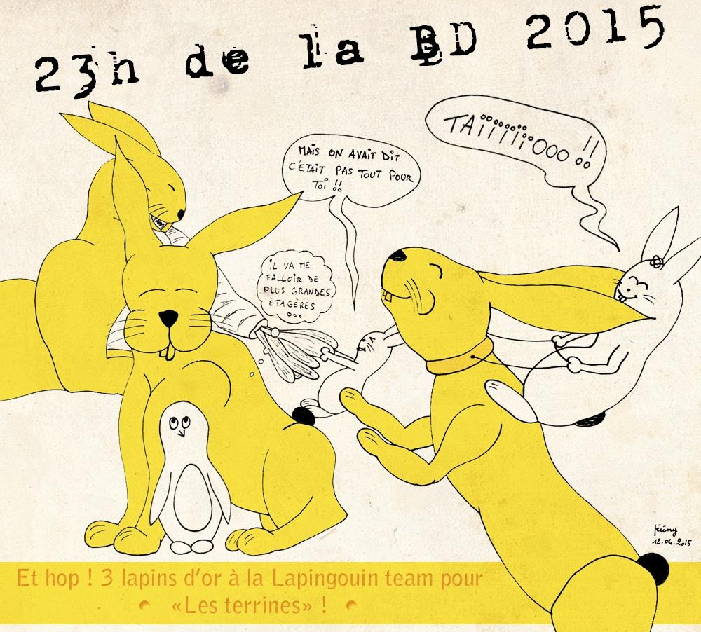 Retour sur les 23h de la BD 2015