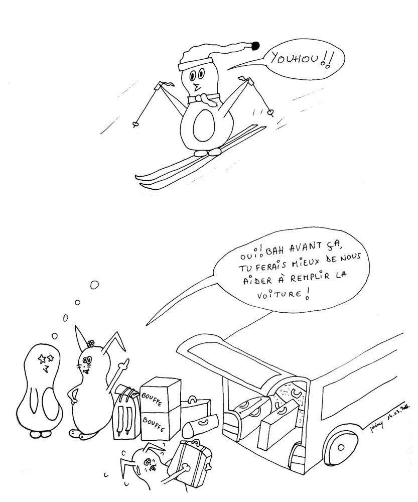 Les sports d'hiver 1