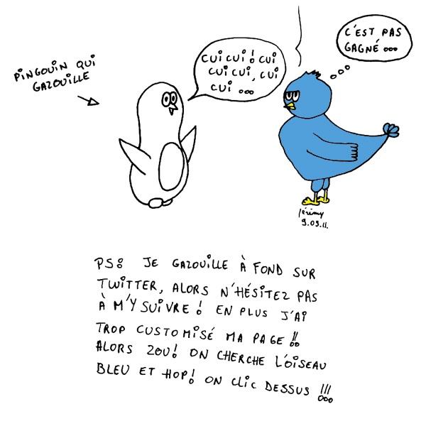 Le gazouillis du Pingouin