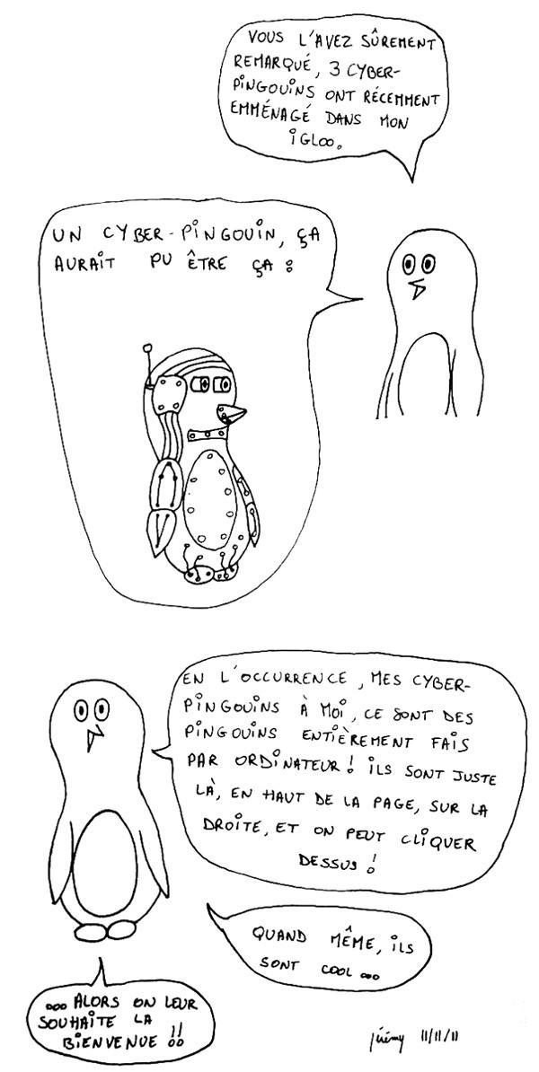 Bienvenue aux cyber-pingouins