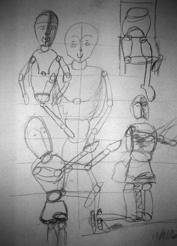 Crayonnées