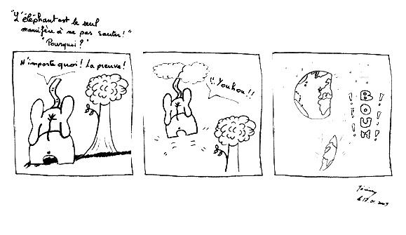 Le mystère de l'éléphant