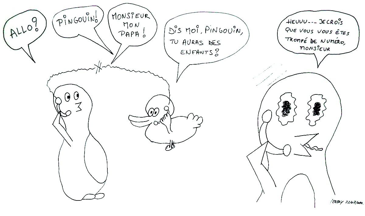 Le canard et le téléphone