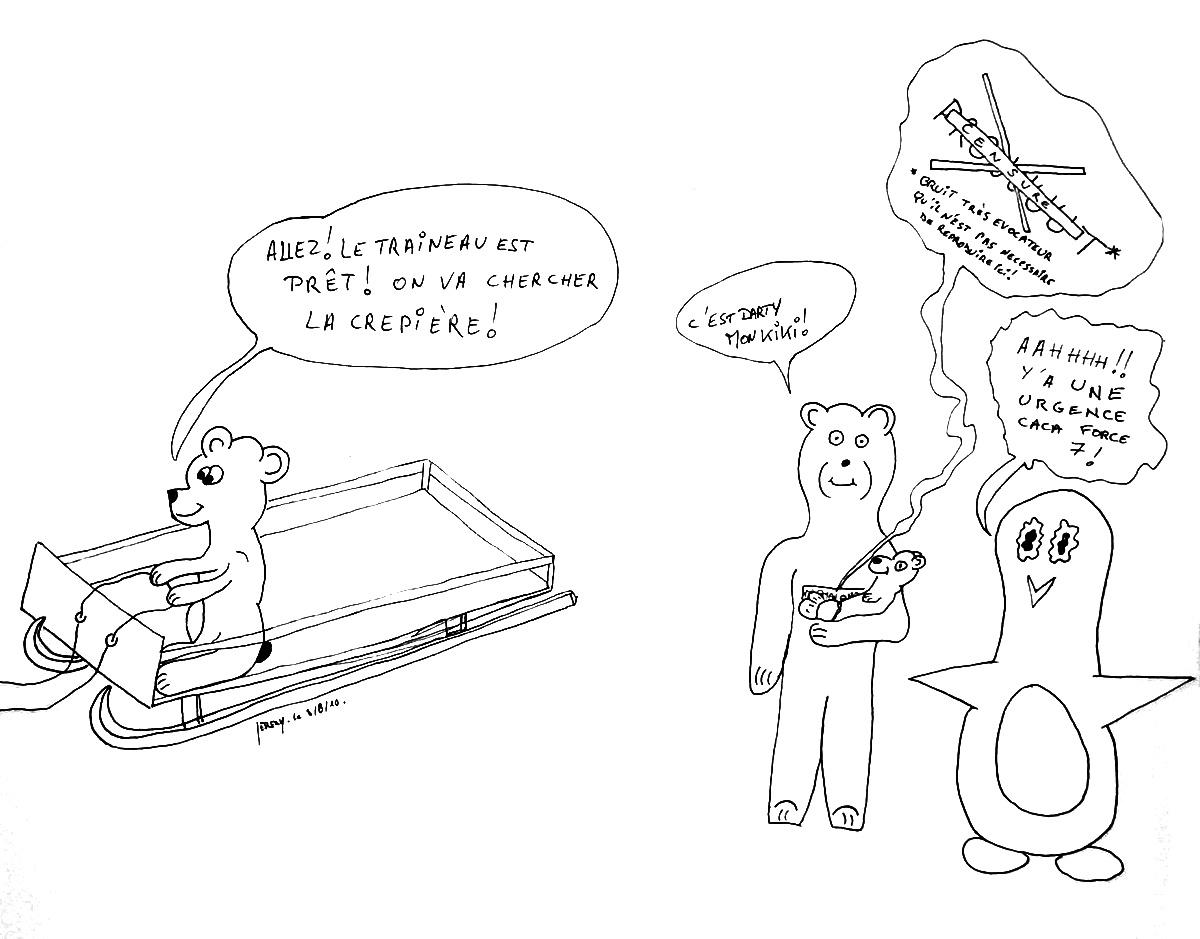 Crêpière et autres complications